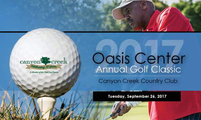 Annual oasis golf classic